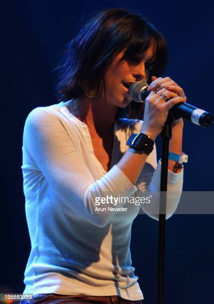Jennifer Love Hewitt during PS Arts Jam Night Show at House of Blues in Hollywood California United States