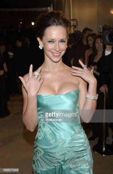 Jennifer Love Hewitt during The 10th Annual Elton John AIDS Foundation InStyle Party Arrivals at Moomba Restaurant in Hollywood California United...