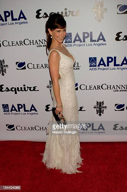 Jennifer Love Hewitt during The Abbey/Esquire Magazine's 'The Envelope Please' Oscar Party Arrivals at The Abbey in Los Angeles CA United States