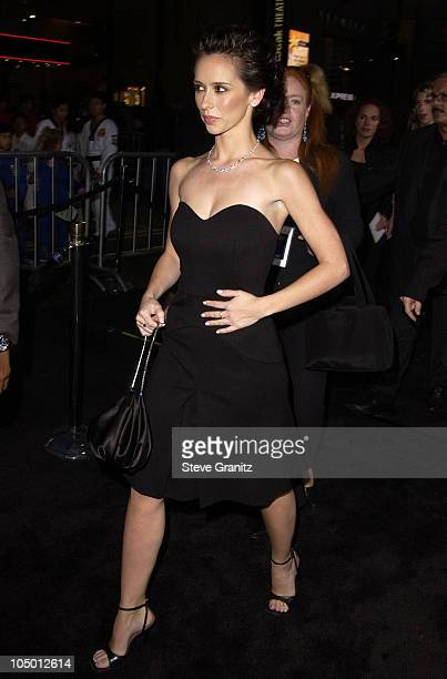 Jennifer Love Hewitt during 'The Tuxedo' Premiere Los Angeles at Mann's Chinese Theatre in Hollywood California United States
