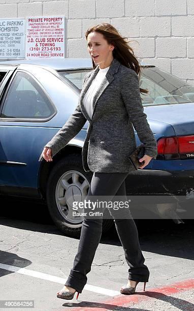 Jennifer Love Hewitt is seen on March 22 2011 in Los Angeles California
