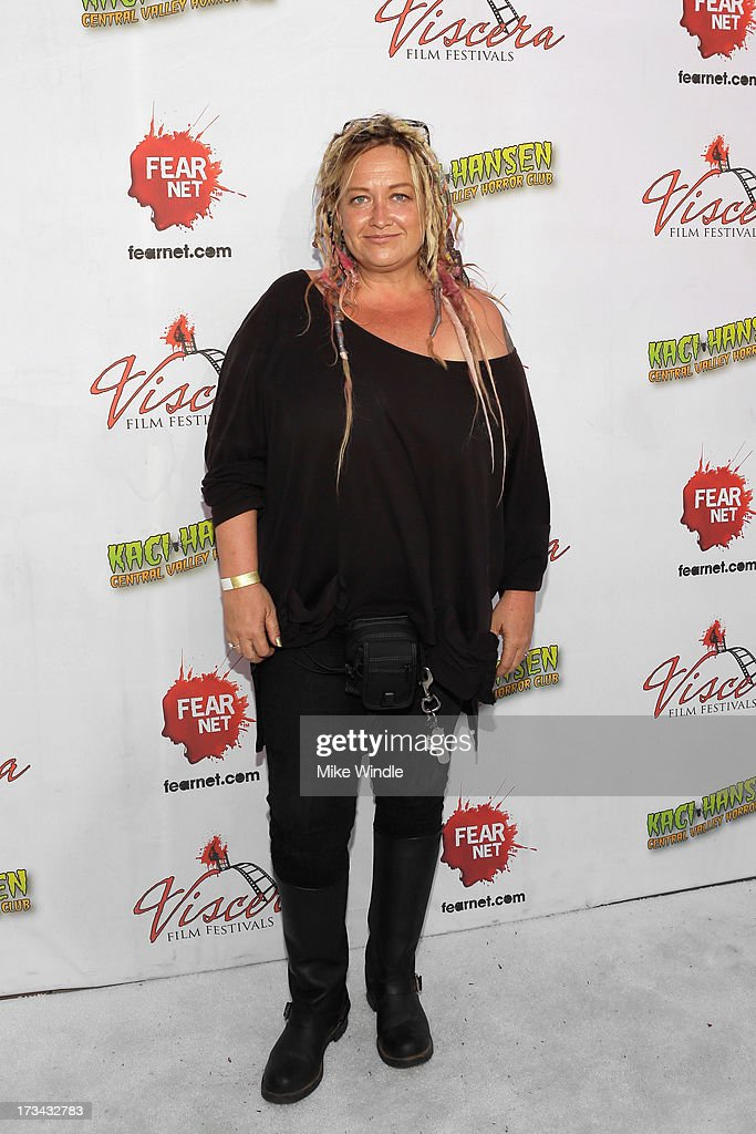 <a gi-track='captionPersonalityLinkClicked' href=/galleries/search?phrase=Jennifer+Lynch&family=editorial&specificpeople=5346965 ng-click='$event.stopPropagation()'>Jennifer Lynch</a> arrives at the 2013 Viscera Film Festival Red Carpet Event at American Cinematheque's Egyptian Theatre on July 13, 2013 in Hollywood, California.