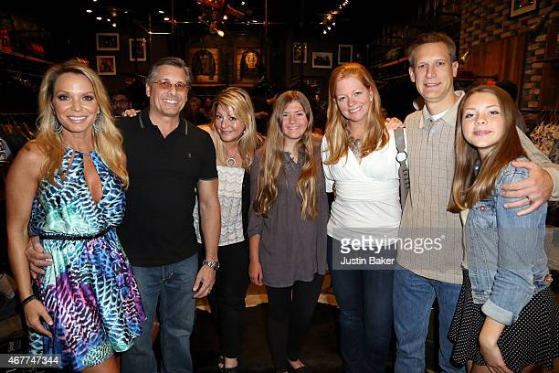 Jennifer Mazur Kevin Mazur and family members attend 'A Tribute To Rock Roll' hosted by Schott NYC Featuring Photographs from Photographer Kevin...