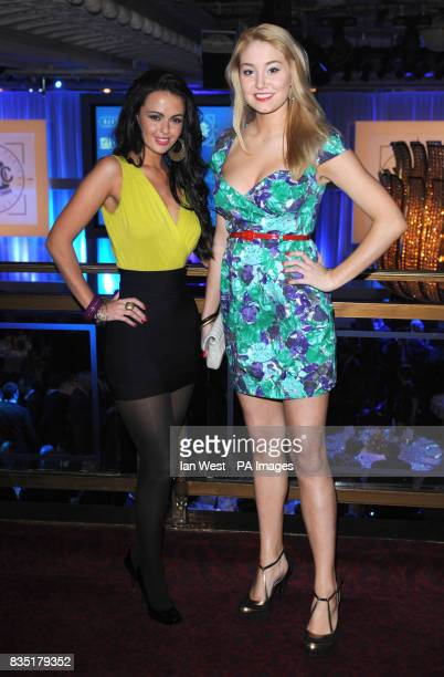Jennifer Metcalfe and Melissa Walton attending the Tric Awards London
