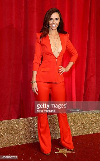 Jennifer Metcalfe attends the British Soap Awards 2016 at Hackney Empire on May 28 2016 in London England