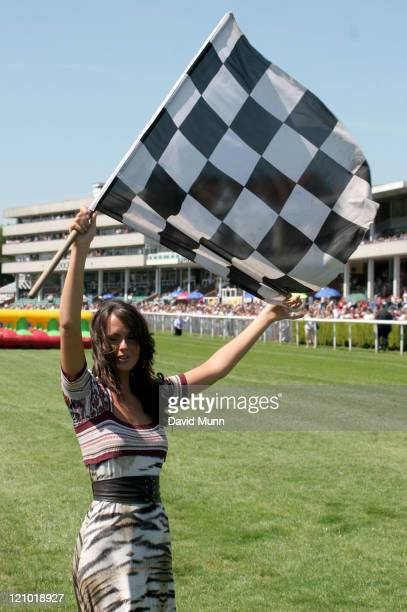 Jennifer Metcalfe during 32Redcom Paddy Power Football Furlong July 16 2006 at Haydock Park Racecourse in NewtonleWillows Great Britain