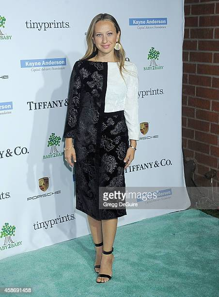 Jennifer Meyer arrives at the 2014 Baby2Baby Gala presented by Tiffany Co honoring Kate Hudson at The Book Bindery on November 8 2014 in Culver City...