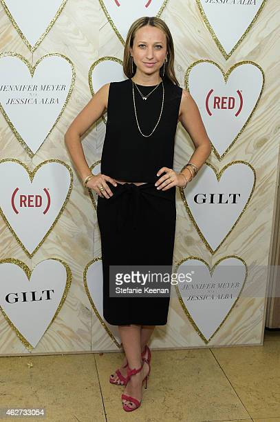Jennifer Meyer attends Gilt And Celebrate The Launch Of Jennifer Meyer xo Jessica Alba at Sunset Tower Hotel on February 3 2015 in West Hollywood...