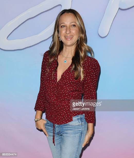 Jennifer Meyer attends the premiere of 'SPF18' at University High School on September 21 2017 in Los Angeles California