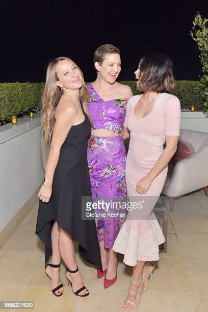 Jennifer Meyer Kate Hudson and Jenna Dewan Tatum attend Giltcom Jennifer Meyer Jenna Dewan Tatum Launch Exclusive Jewelry Collection Benefitting...