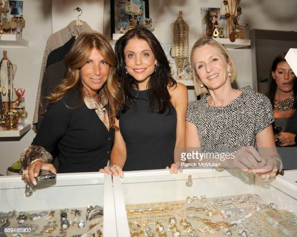 Jennifer Miller Bethenny Frankel and Nathalie Calousdian attend VAHAN Jewelry Fall 2009 Collection Preview at Jennifer Miller NYC at Jennifer Miller...