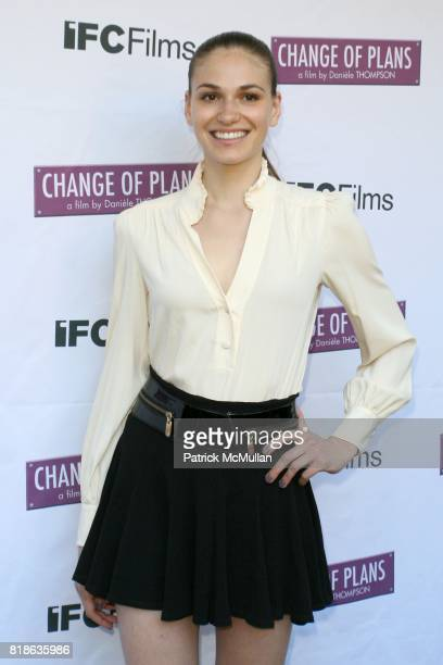 Jennifer Missoni attends The New York Premiere of 'CHANGE OF PLANS' at IFC Center on June 8 2010 in New York City