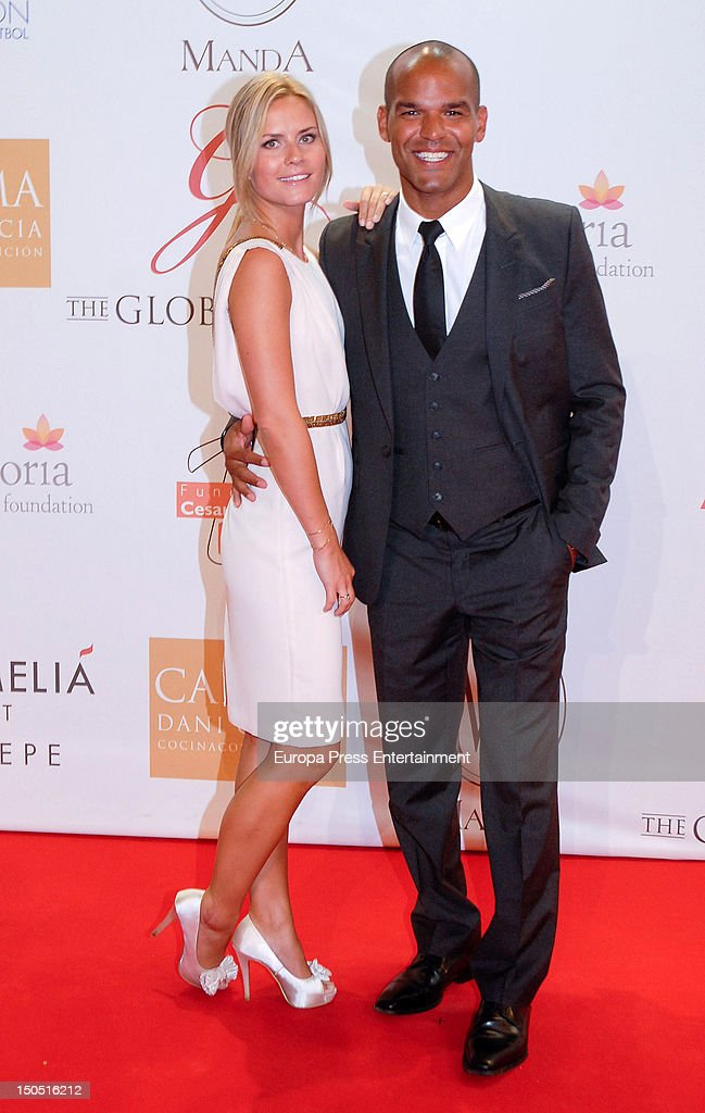 Jennifer Morrison and Amaury Nolasco attend the Global Gift Gala 2012 a party held by Cesare Scariolo Foundation and Eva Longoria Foundation to raise...