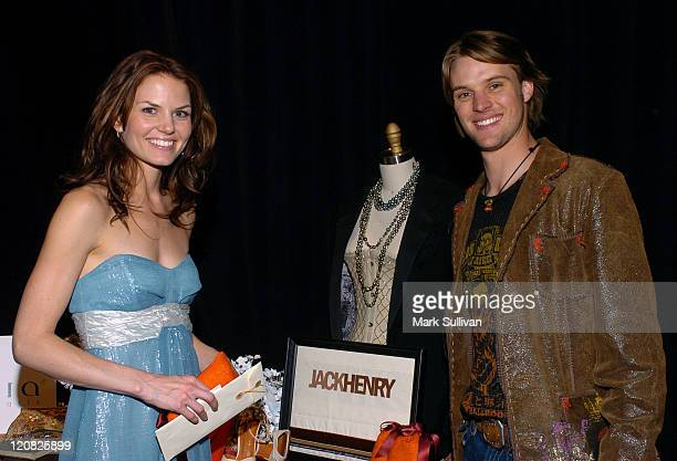 Jennifer Morrison and Jesse Spencer presenters during The Flavia Fusion Retreat by Backstage Creations at the 2005 Billboard Music Awards Day 2 at...