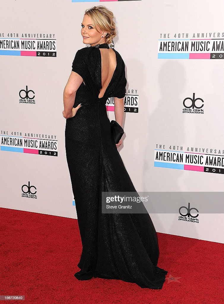 Jennifer Morrison arrives at the 40th Anniversary American Music Awards at Nokia Theatre L.A. Live on November 18, 2012 in Los Angeles, California.