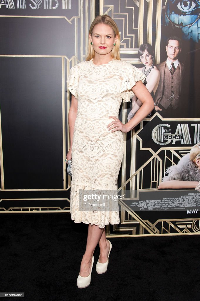 <a gi-track='captionPersonalityLinkClicked' href=/galleries/search?phrase=Jennifer+Morrison&family=editorial&specificpeople=233495 ng-click='$event.stopPropagation()'>Jennifer Morrison</a> attends 'The Great Gatsby' world premiere at Alice Tully Hall at Lincoln Center on May 1, 2013 in New York City.