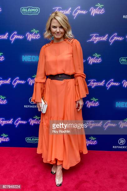 Jennifer Morrison attends The New York premiere of 'Ingrid Goes West' hosted by Neon at Alamo Drafthouse Cinema on August 8 2017 in the Brooklyn...