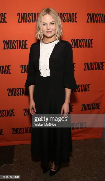 Jennifer Morrison attends the Opening Night performance of 'A Parallelogram' at The Second Stage Theatre on August 2 2017 in New York City