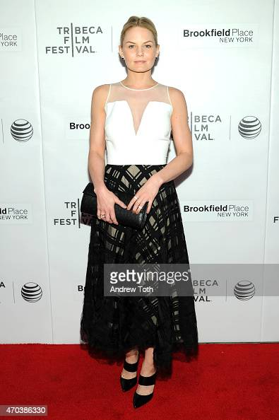 Jennifer Morrison attends the premiere of 'Dirty Weekend' during the 2015 Tribeca Film Festival at Regal Battery Park 11 on April 19 2015 in New York...