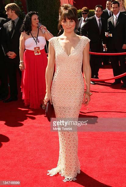 Jennifer Morrison during 58th Annual Primetime Emmy Awards Arrivals at Shrine Auditorium in Los Angeles California United States