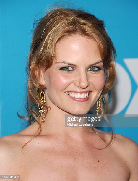 Jennifer Morrison during The 2007/2008 Fox Upfronts Arrivals at Wollman Rink Central Park in New York City New York United States