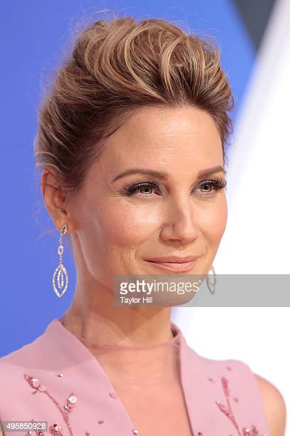 Jennifer Nettles attends the 49th annual CMA Awards at the Bridgestone Arena on November 4 2015 in Nashville Tennessee