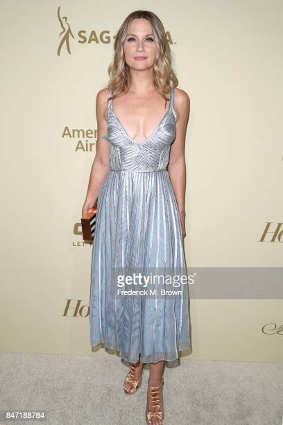 Jennifer Nettles attends The Hollywood Reporter and SAGAFTRA Inaugural Emmy Nominees Night presented by American Airlines Breguet and Dacor at the...