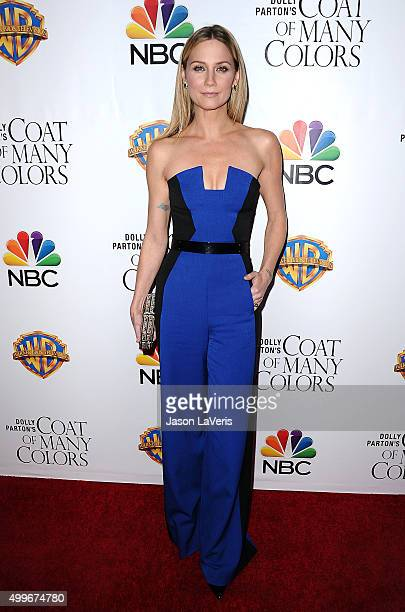 Jennifer Nettles attends the premiere of 'Dolly Parton's Coat Of Many Colors' at the Egyptian Theatre on December 2 2015 in Hollywood California