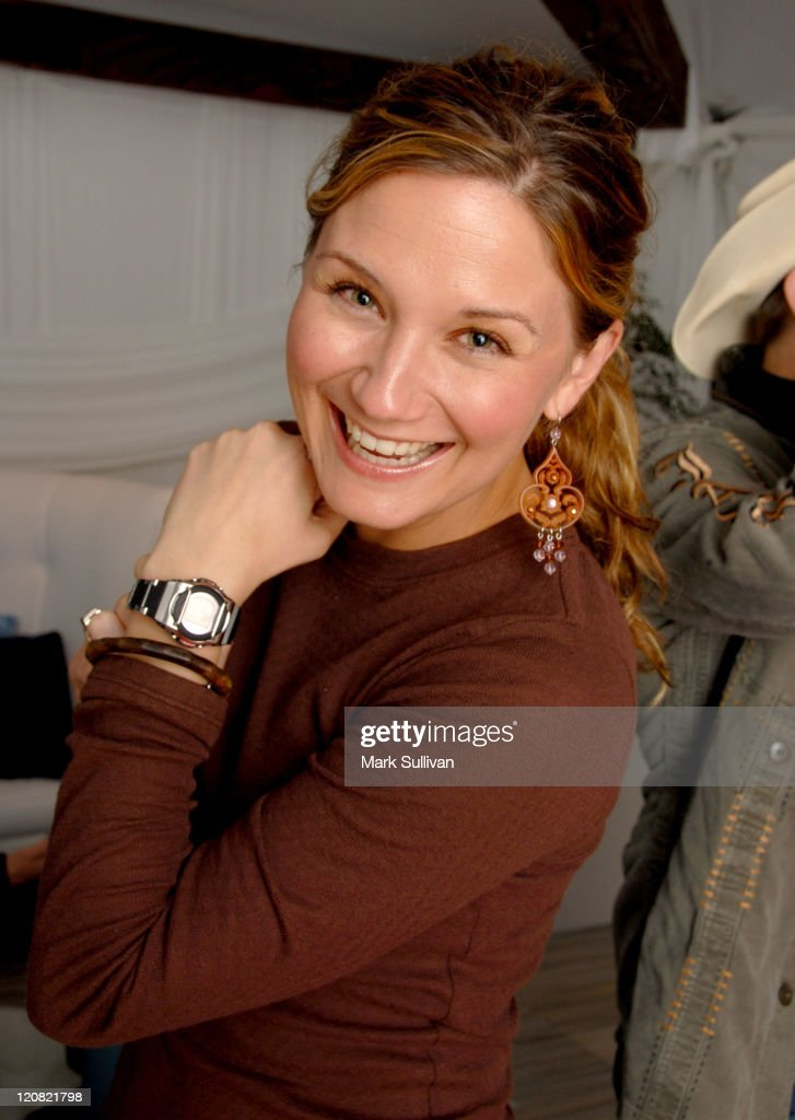 Jennifer Nettles of Sugarland at Casio during Casio at the Distinctive Assets GRAMMY Talent Lounge Day 1 at Staples Center in Los Angeles California...