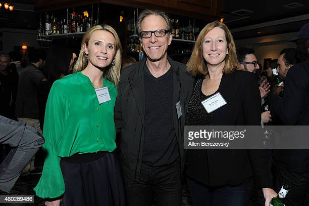 Jennifer Newsom Kirby Dick and executive director of Sundance Institute Keri Putnam attend a Sundance Institute Alumni Reception at Harlowe on...