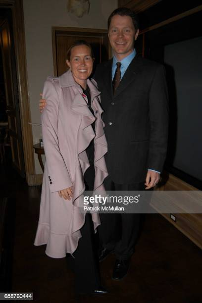 Jennifer Nordstrom and John Nordstrom attend Kathy and Rick Hilton's party for Donald Trump and 'The Apprentice' at the Hiltons' Home on February 28...