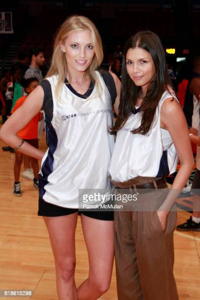 Jennifer Ohlsson and Alejandra Cata attend 8th Annual iStar Charity Shootout at Madison Square Garden on June 21 2010 in New York City