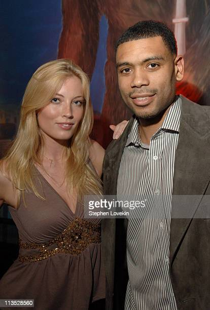 Jennifer Ohlsson and Allan Houston during Allan Houston Birthday Party at The Supper Club in New York City NY United States