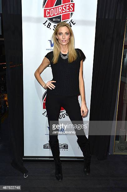 Jennifer Ohlsson attends MSG Network's Season 2 Launch Party for 'Four Courses With JB Smoove' at La Cenita on February 6 2014 in New York City