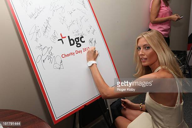 Jennifer Ohlsson attends the Annual Charity Day hosted by Cantor Fitzgerald and BGC Partners on September 11 2012 in New York United States