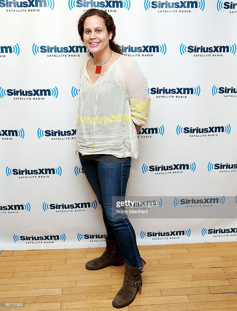 Jennifer Oxley visits at SiriusXM Studios on February 26, 2013 in New York City.