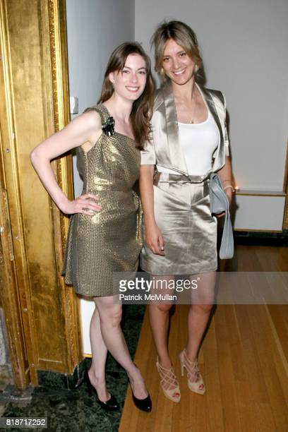 Jennifer Pastore and Francis TulHart attend The YOUNG PATRONS CIRCLE of AMERICAN FRIENDS Hosts SOIREE AU LOUVRE at Payne Whitney Mansion on June 3...