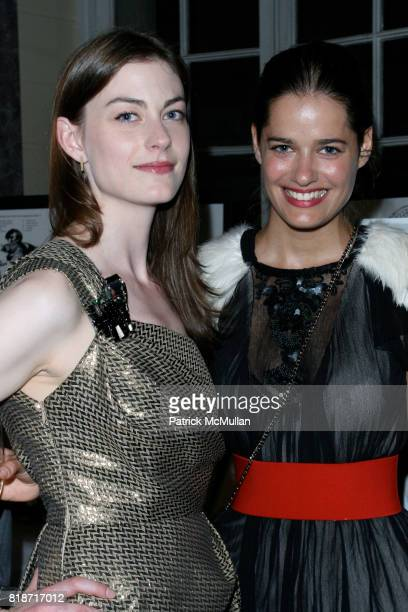 Jennifer Pastore and Mahee Thorak attend The YOUNG PATRONS CIRCLE of AMERICAN FRIENDS Hosts SOIREE AU LOUVRE at Payne Whitney Mansion on June 3 2010
