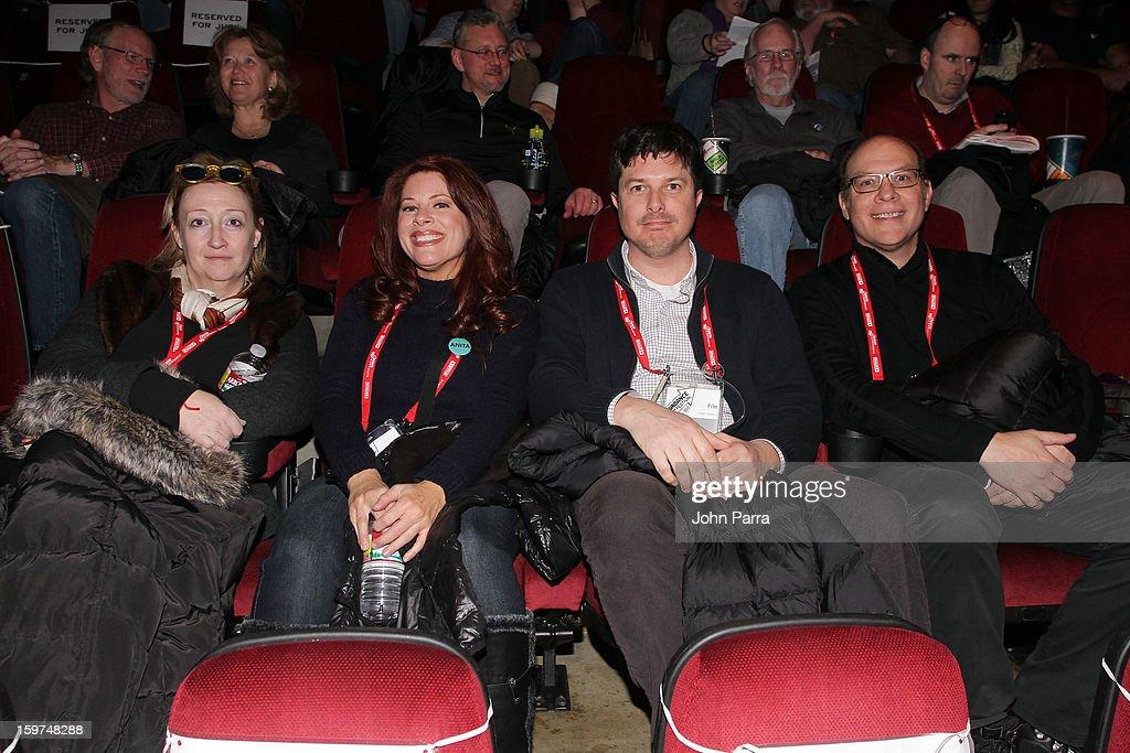 Jennifer Pelphrey, Kelly Crews, Kent Osborne and Brian Miller attend Adventure Time at Sundance at Redstone Cinema 1 at Kimball Junction on January 19, 2013 in Park City, Utah. (Photo by John Parra/WireImage) 23186_001_JP_0045.JPG