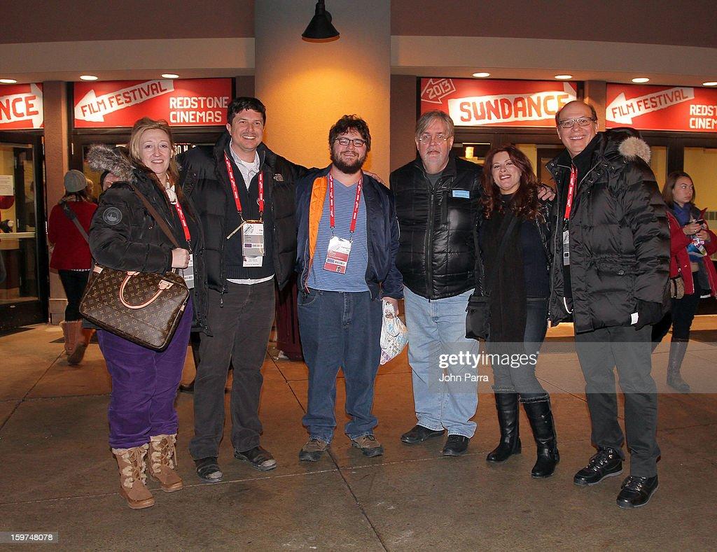 Jennifer Pelphrey, Kent Osborne, Abe Groening, Kelly Crews and Brian Miller attend Adventure Time at Sundance at Redstone Cinema 1 at Kimball Junction on January 19, 2013 in Park City, Utah. (Photo by John Parra/WireImage) 23186_001_JP_0017.JPG