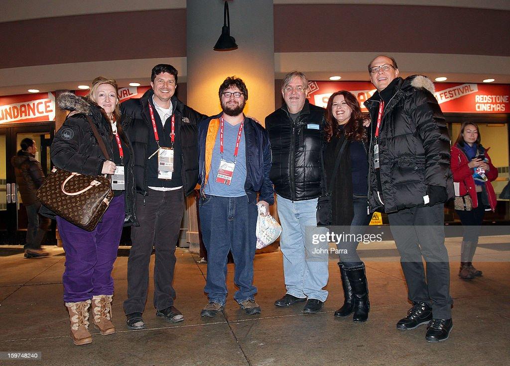Jennifer Pelphrey, Kent Osborne, Abe Groening, Kelly Crews and Brian Miller attend Adventure Time at Sundance at Redstone Cinema 1 at Kimball Junction on January 19, 2013 in Park City, Utah. (Photo by John Parra/WireImage) 23186_001_JP_0020.JPG