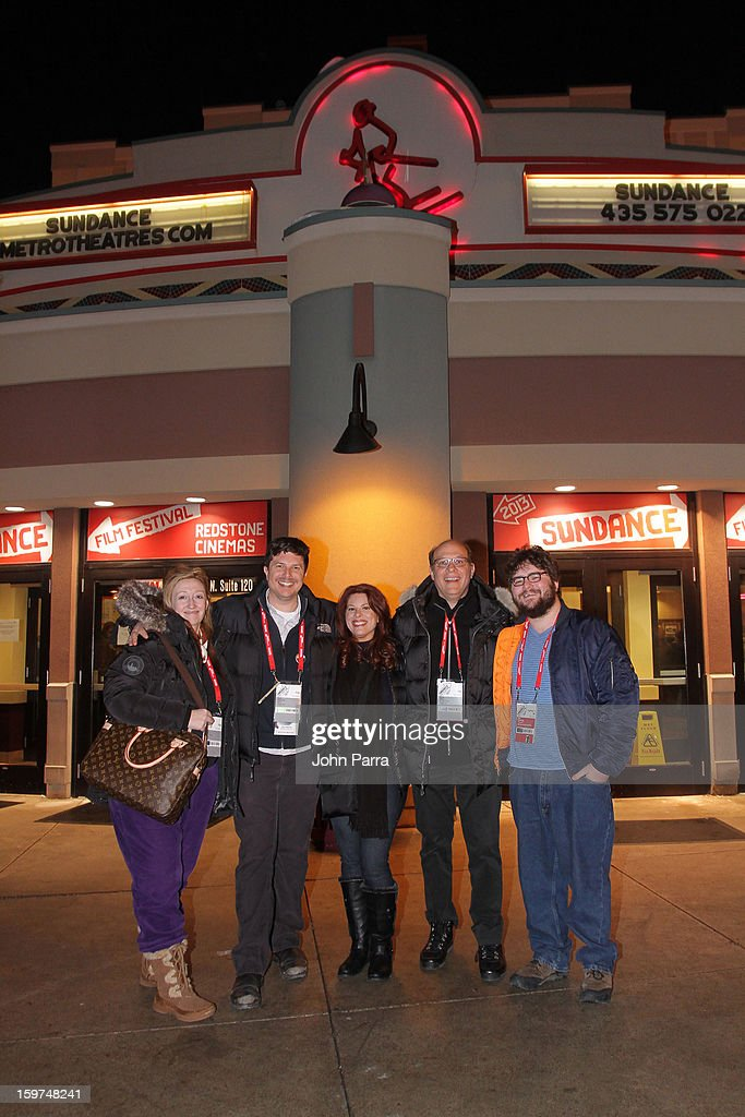 Jennifer Pelphrey, Kent Osborne, Abe Groening, Kelly Crews and Brian Miller attend Adventure Time at Sundance at Redstone Cinema 1 at Kimball Junction on January 19, 2013 in Park City, Utah. (Photo by John Parra/WireImage) 23186_001_JP_0028.JPG