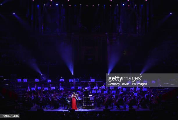 Jennifer Pike performs during Classic FM Live at the Royal Albert Hall London
