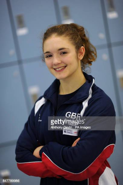 Jennifer Pinches during the Media Day at the Lilleshall National Sports Centre Lilleshall
