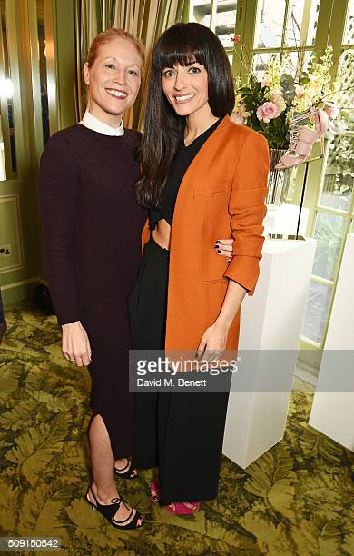 Jennifer Portman designer and founder of Bionda Castana and Natalia Barbieri designer and founder of Bionda Castana attend the LKBennett x Bionda...