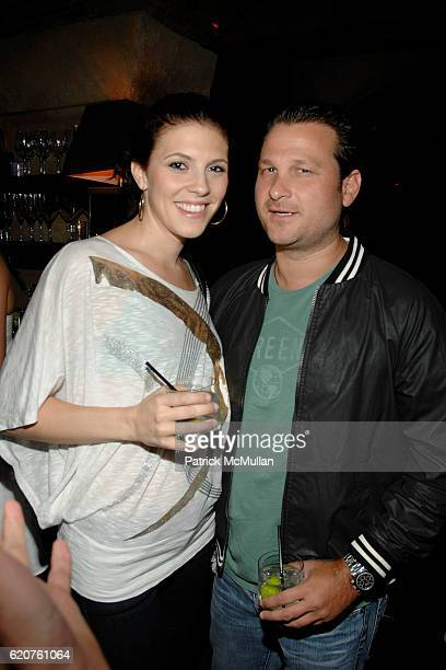 Jennifer Powell and Jason Pomeranc attend Cocktails and hors d' oeuvres to Celebrate the Launch of Thompson Hotels' Second Issue of Room 100 at...