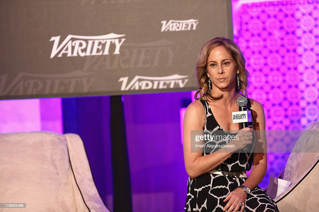 Jennifer Prince, Head of Industry, Media & Entertainment at Google speaks onstage during 'A Conversation With Google' panel at Variety Presents