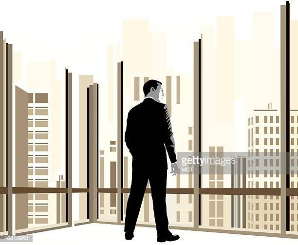 Jennifer Pritchard illustration of 'Mad Men' character Don Draper