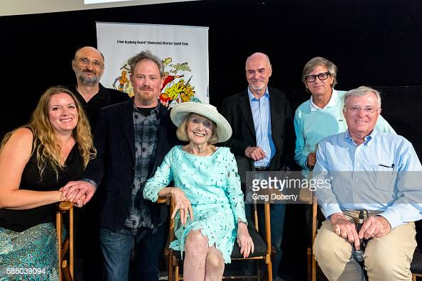 Jennifer Raim Guest Daniel Raim Lillian Michelson Jim Bissell Rick Carter and panelist during a panel discussion following the Premiere Of 'Harold...