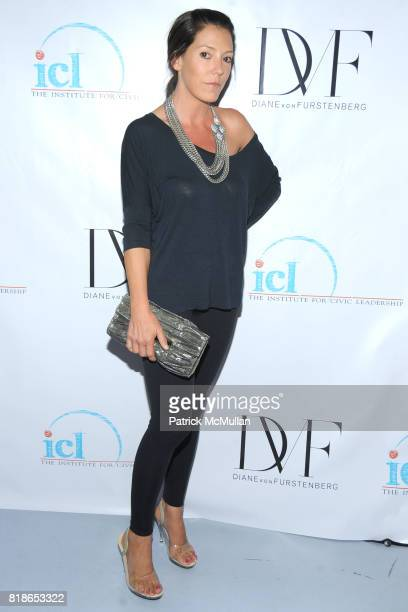 Jennifer Raines attends INSTITUTE FOR CIVIC LEADERSHIP 2010 Spring Benefit at DVF Studio on June 15 2010 in New York City